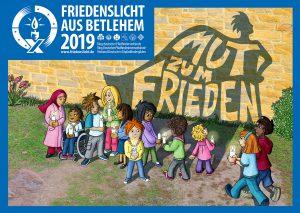 Friedenslicht Plakat 2019