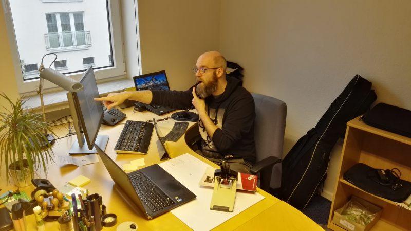 Neuer Bildungsreferent im Büro Südstadt