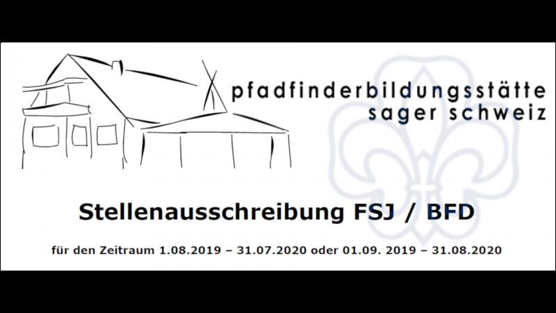 FSJ/BFD-Stelle in der Pfadfinderbildungsstätte des VCP Bezirk Oldenburg zu besetzen